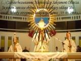 Czcijcie bezustannie Najświętszy Sakrament Ołtarza