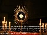 Adoracja i Msza święta