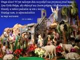 Drogie dzieci! W tym radosnym dniu wszystkich was przynoszę przed mojego Syna Króla Pokoju...