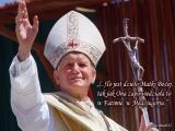 Wypowiedź Ojca świętego Jana Pawła II na zagadnienie biskupa koreańskiego : Dzięki Waszej Świątobliwości Polska została wyzwolona z komunizmu...